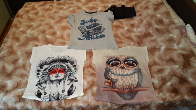 KaiTingu 2019 New Fashion Vintage Spring Summer T Shirt Women Clothing Tops Animal Owl Print T-shirt Printed White Woman Clothes