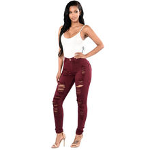 New high-grade ladies big size tight solid color wild hip jeans jeans slim comfortable stretch feet pants 3 colors  S--3XL