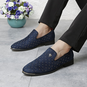Image 5 - Men Casual Shoes 2018 Fashion Men Shoes Leather Men Loafers Moccasins Slip On Mens Flats Loafers Male Shoes