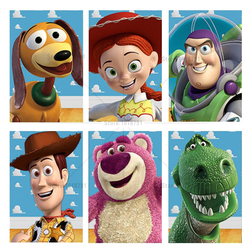 Toy Story street 5D Diy Diamond Painting