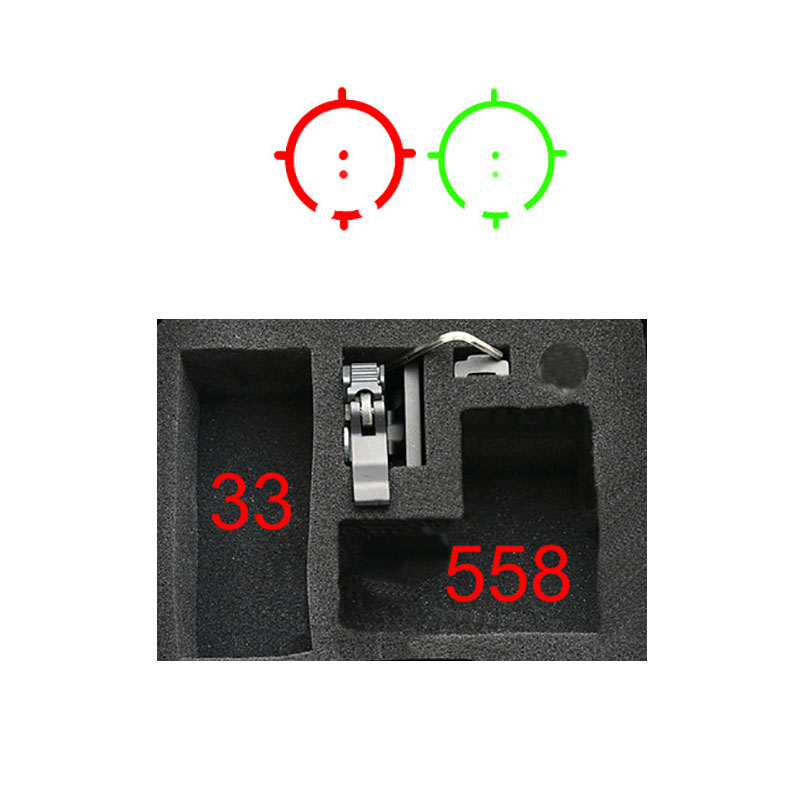 Tactical 558+33 Set 3x Magnifier Scope Sight kit holographic sight red dot green dot scope sight optic new tactical reflex green red dot sight scope