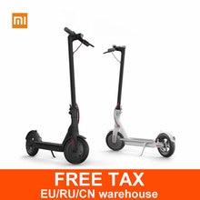 Xiaomi M365 patinete scooter eléctrico longboard skateboard hoverboard 30 KM kilometraje con APP 2 ruedas eléctrica de pie vespa