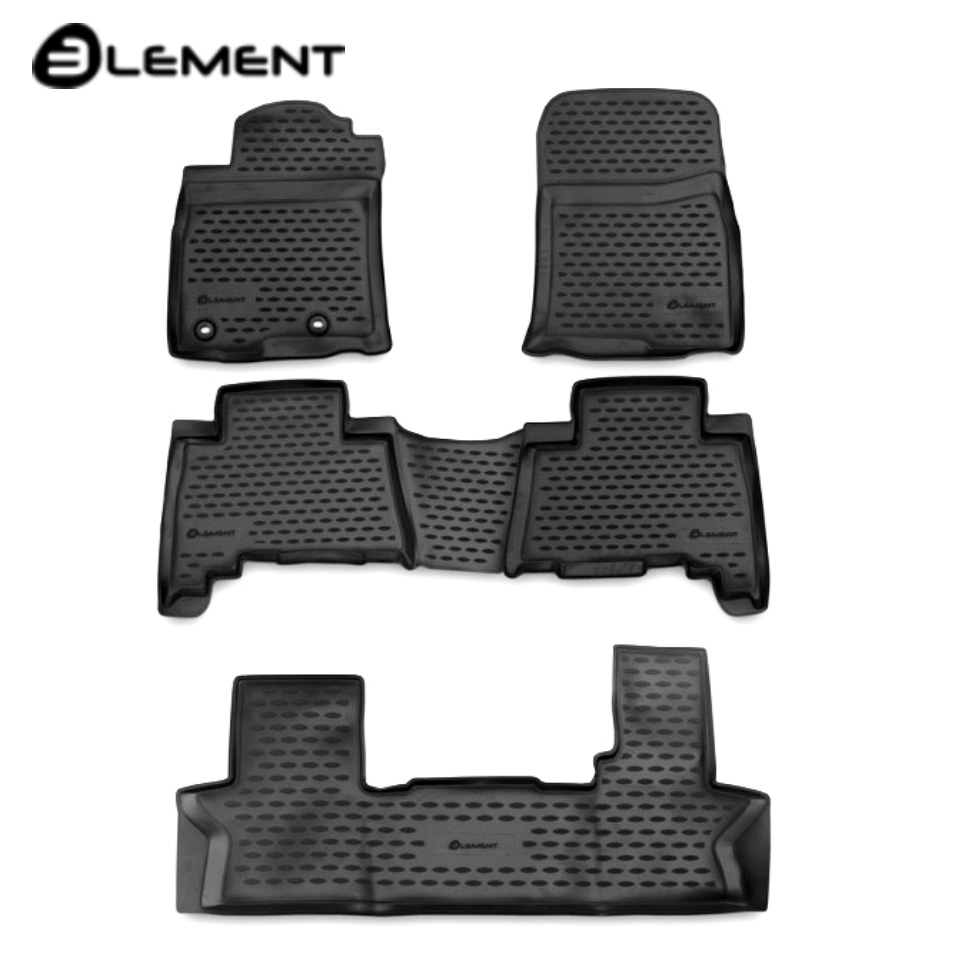 For Toyota Land Cruiser 150 Prado 2013-2017 floor mats into saloon 7-seats 5 pcs/set Element NLC4876210K 5 10 pcs super fast 608 7 steel ball bearing for for hand spinner fidget spinners accessorie adult toy for kid