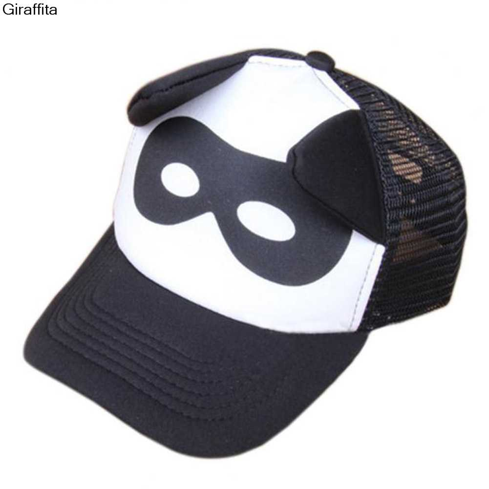 9a2c9ce19c2 ... Giraffita Kid Letter Cloud Mask Print Cap Spring Summer Baby Boys Girls  Baseball Caps Casual Adjustable