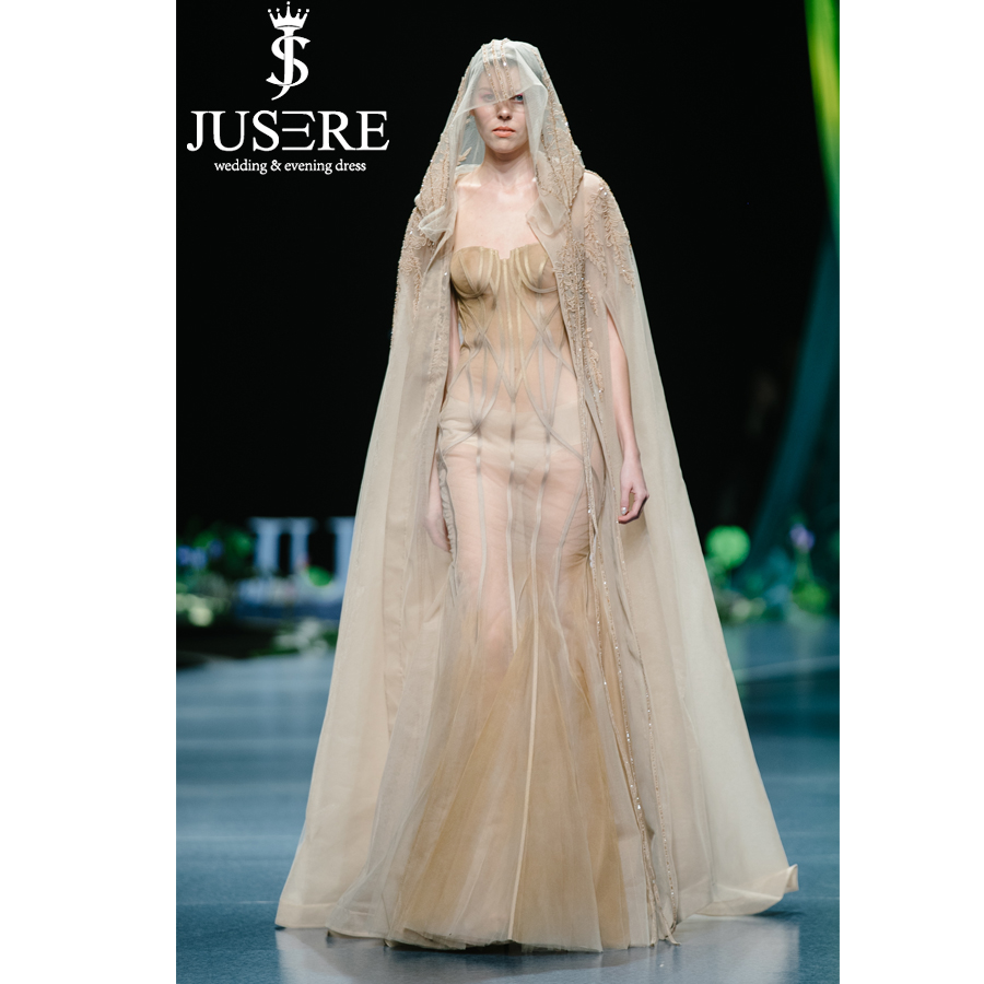 Evening Gown Wedding: Aliexpress.com : Buy JUSERE 2019 SS FASHION SHOW Champagne