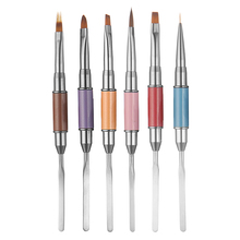 Professional Double Head Nail Art Painting Pen Drawing Brush Manicure Tool