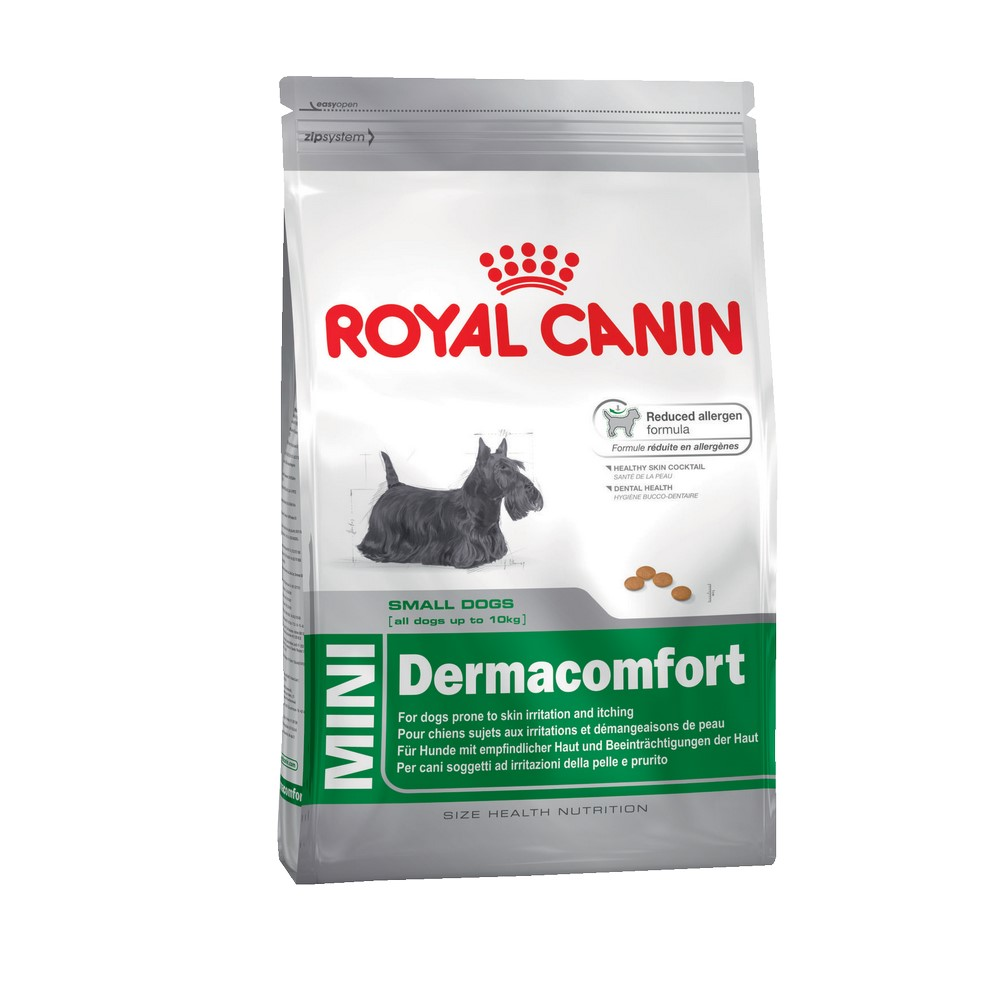 Dog Food Royal Canin Mini Dermacomfort, 2 kg