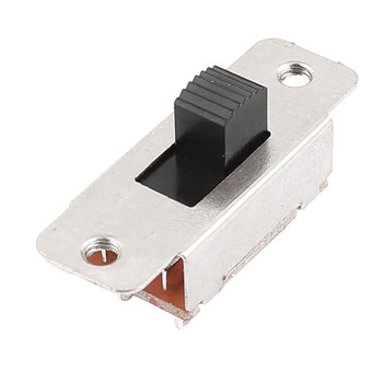 цена на UXCELL 250Vac 3A 125Vac 6A 6 Pins 2 Positions Dpdt On/On Mini Slide Switch