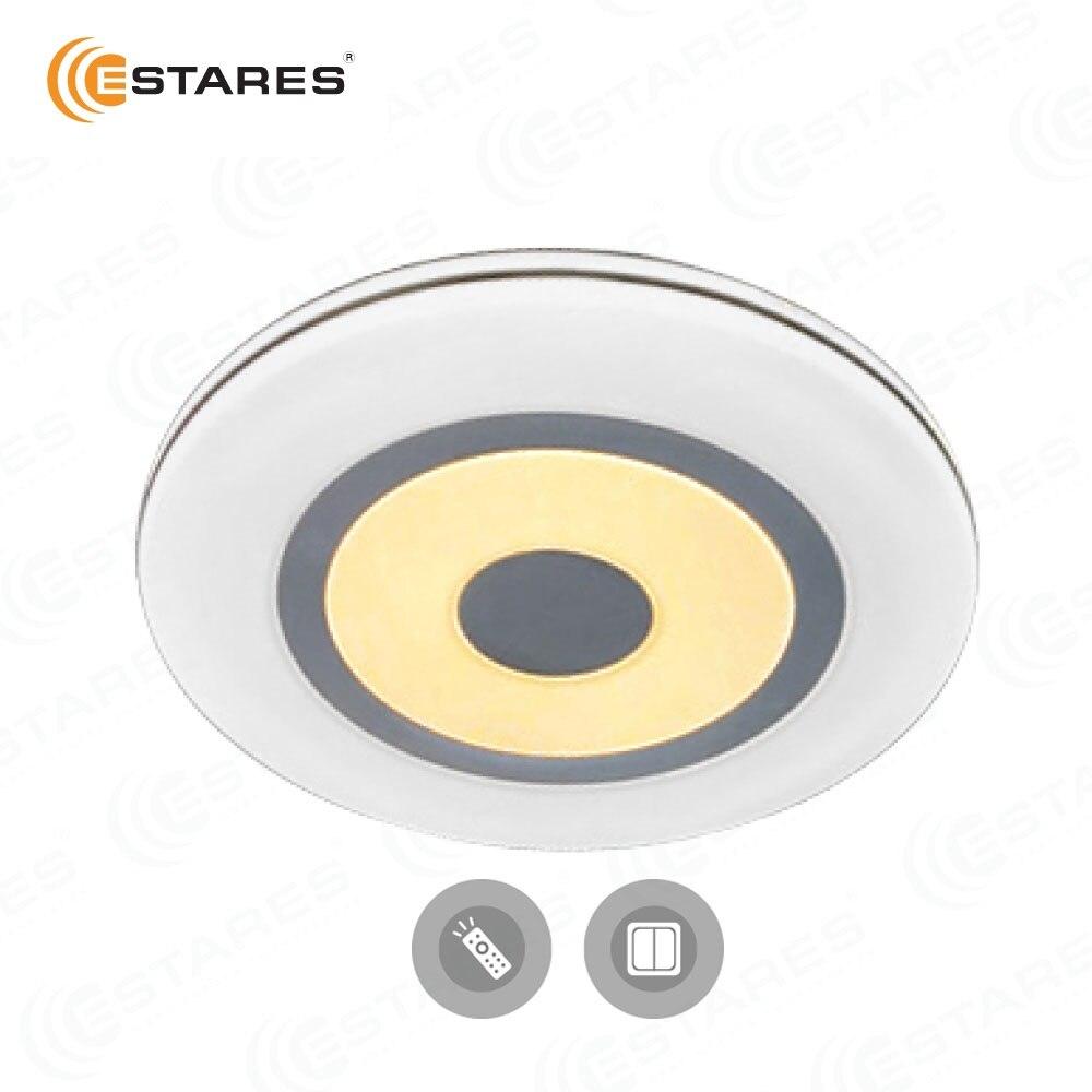 ESTARES Contrôle led led lampe de plafond Lumière QUADRON 72 w R/S 136 W L