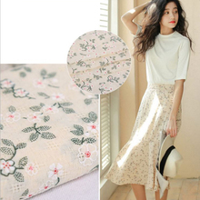 100% cotton brocade, soft comfortable plain fabric for baby clothing DIY sewing wedding dress shoes hat by 100x150cm