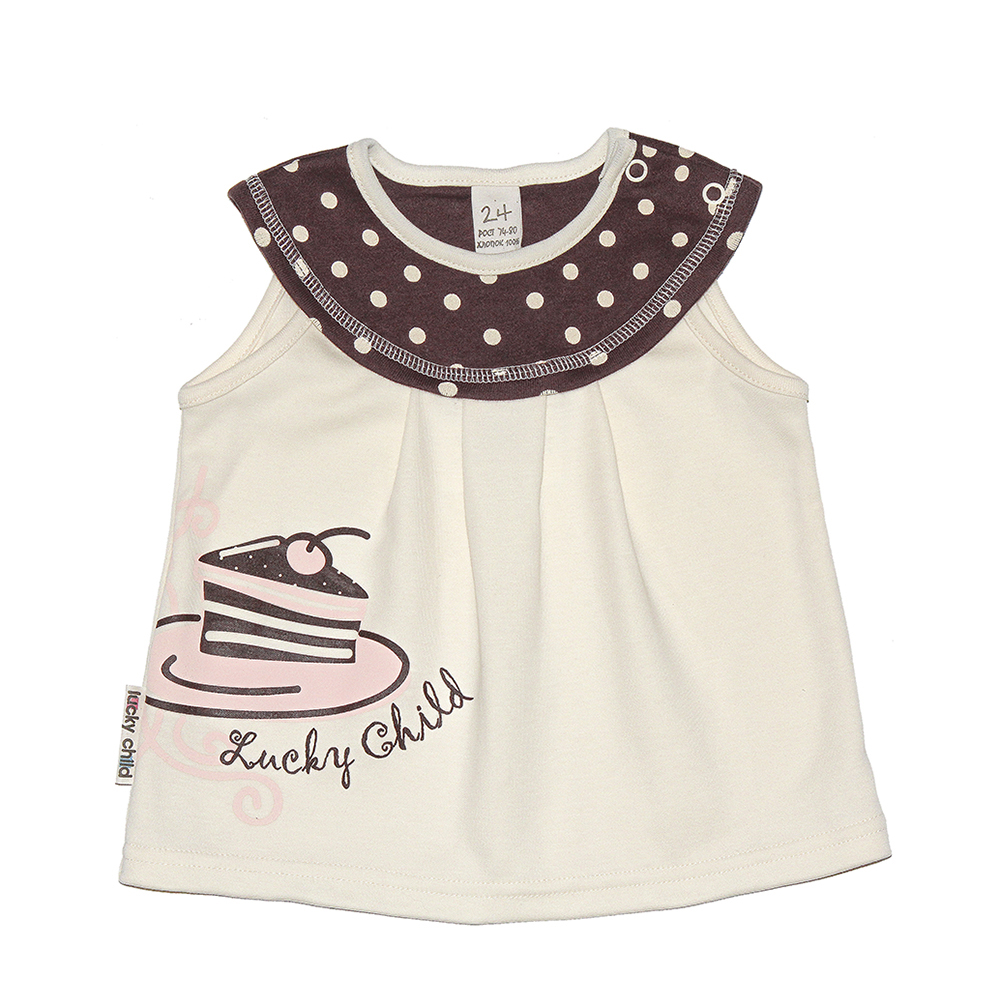 Underwear Lucky Child for girls 23-25 (3M-18M) Shirt Underpants Baby Clothing Children clothes T shirt youqi quality baby boy clothes girl rompers unisex newborn toddler infant costumes 3 6 18m pajamas clothing autumn baby clothes