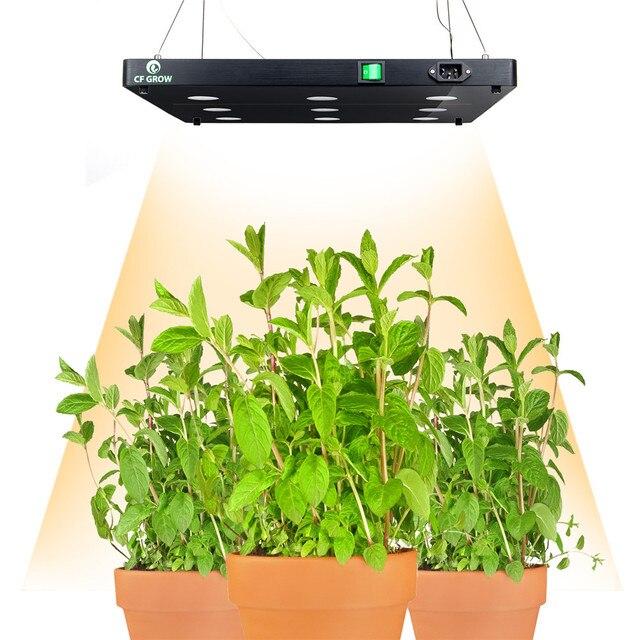 Ultra Thin Cob Led Plant Grow Light Full Spectrum Blacksun