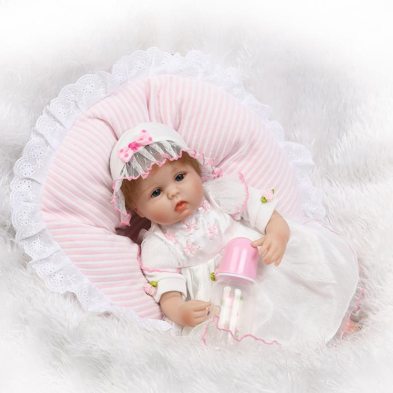 NPK Silk Baby Rebirth 42cm Real Dolls Rebirth Toys Girl Life Rebirth Baby Birthday Gift Princess Doll dark matter v 1 rebirth