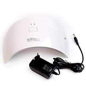 Image 2 - 36 ワット led ランプ LED ランプ SUN9c プラス UV ランプ爪ネイルドライヤーですべてのゲル 30 s/60 s ネイルドライヤー