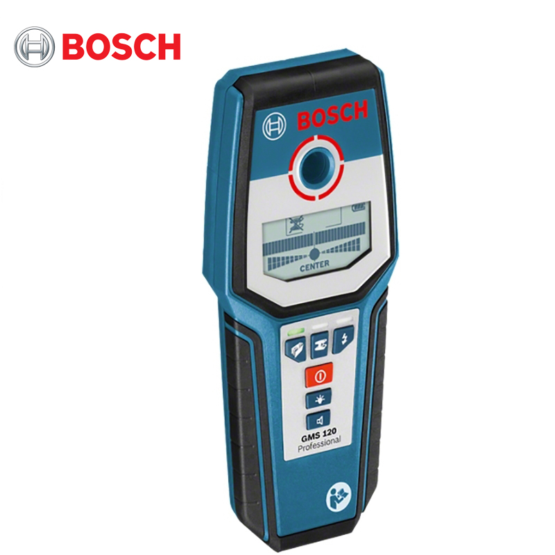 The detector Bosch GMS 120 Prof high sensitive underground metal detector gfx7000 ground search gold detector gfx 7000