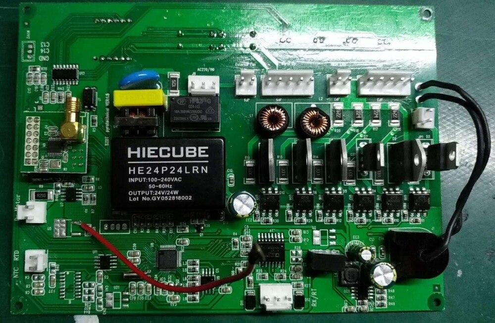 2 PCS/LOT panneau de commande de la machine à étincelle froide machine sparkuar deux types pour le choix 110 V ou 220 V