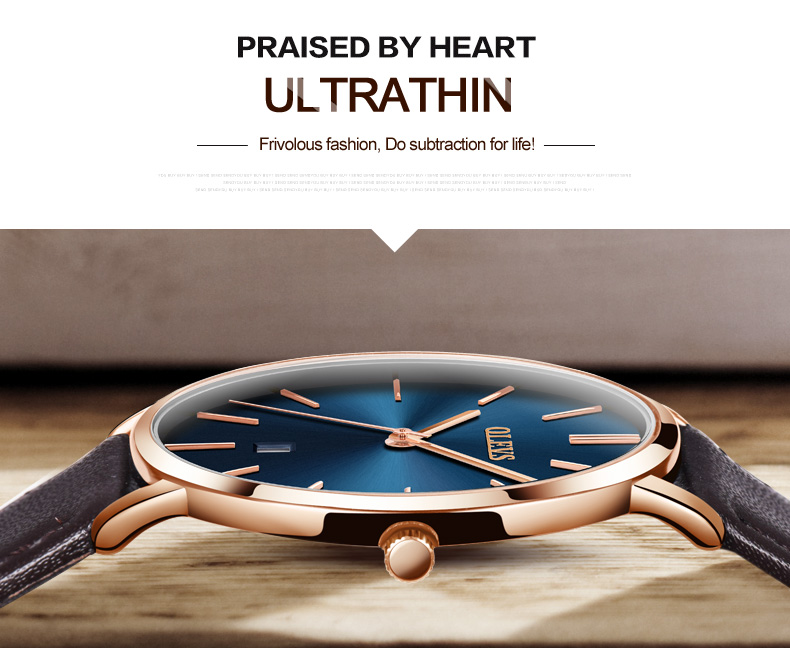 UTB8QUibctoSdeJk43Owq6ya4XXao 60% OFF OLEVS Men Ultra thin Watches - Top Brand Luxury Quartz Watch Men's [ New ]