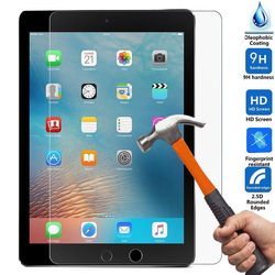 For iPad Pro 9.7 inch 2pcs Screen Protector Tempered Glass For New iPad Screen Protective Film Cover Glass