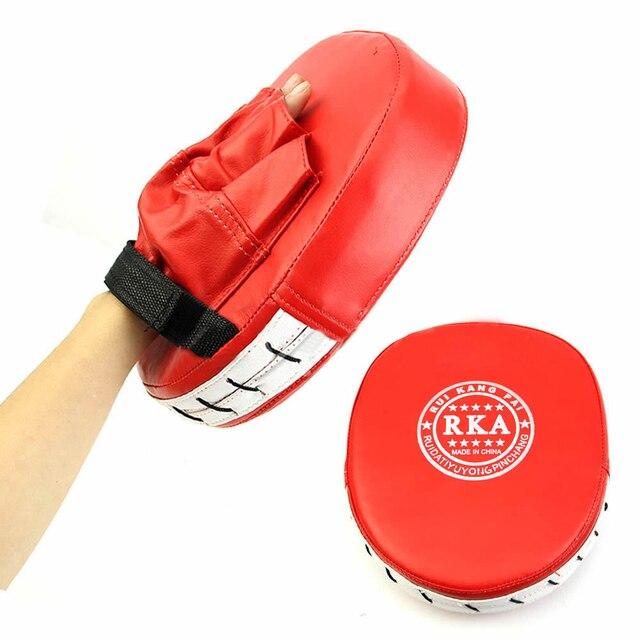 Профессиональная боксерская рукавица тренировочный фокус мишень карате битва тайская кик пуансон перчатка