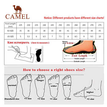 CAMEL Women Outdoor Hiking Shoes Non-slip Breathable Durable Anti-impact Comfortable Travel Hiking Trekking Trail Shoes