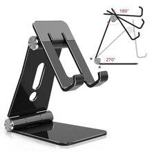 Mobile Desktop Stand Folding portable tablet mobile shelf lazy live multi-desktop