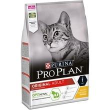 Сухой корм Purina Pro Plan для взрослых кошек от 1 года, с курицей, 4 упаковки по 3 кг