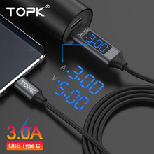 TOPK D-Line2 USB Type C Cable,Voltage an