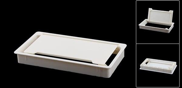 UXCELL Farbe Kunststoff Rechteckigen Pc Computer Schreibtisch ...