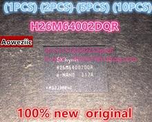 (1 UNIDS) (2 UNIDS) (5 UNIDS) (10 UNIDS) 100% nueva original H26M64002DQR E-NAND BGA H26M64002DQRE-NAND H26M64002
