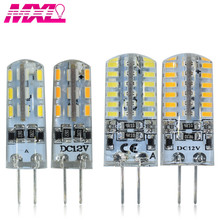 lights Lamp G4 G9 Corn Bulb 220V Lampada 24 LED SMD 2835 3014 360 Degrees Crystal Chandelier 48 lamparas luminaria 64 lampe
