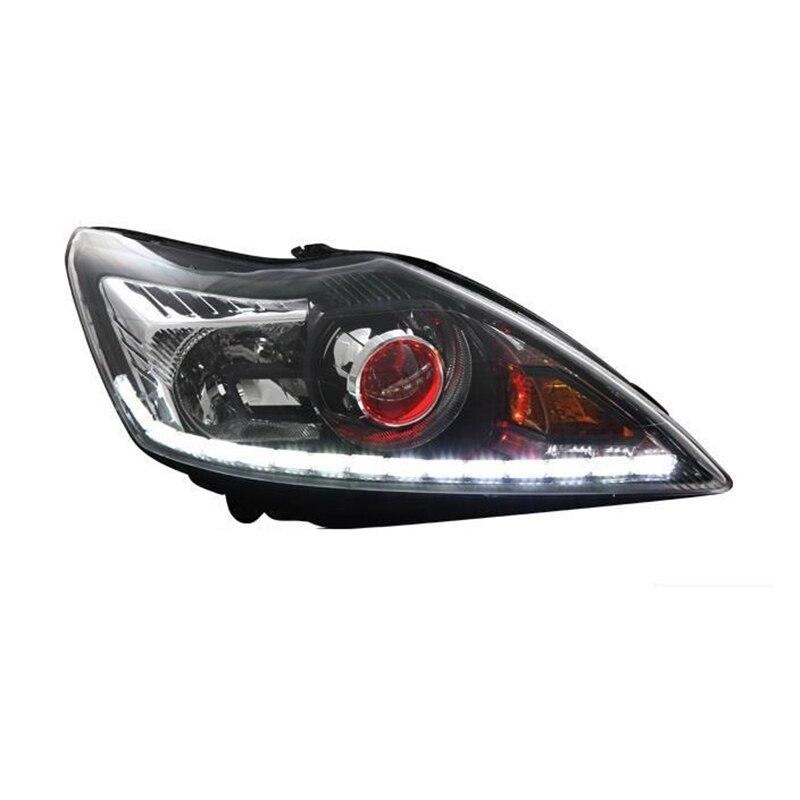 Сзади фары для автомобиля Para Авто сборки лампы Automovil автомобилей дневного бег Drl Стайлинг запчасти светодио дный фонари Ford Focus