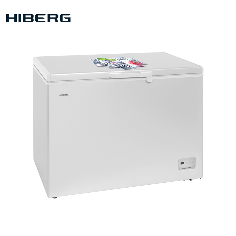 Chest Freezer HIBERG PF 32L4 NFW With NO FROST Home Appliance Freezer Kitchen Appliances