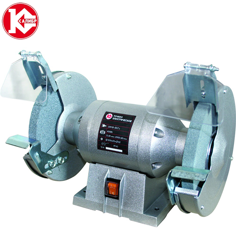 Kalibr TE-200/480 bench multi-function electric grinder bench polishing machine small grinding wheel заготовки для значков d58 мм булавка 50 шт