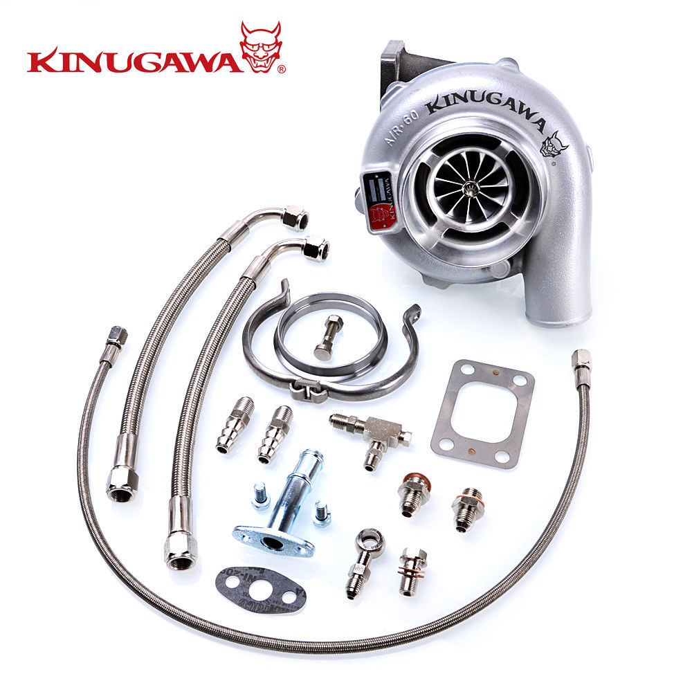 Kinugawa GTX Ball Bearing Turbocharger 4 Anti Surge GTX3076R AR.61 T3 V-Band kinugawa gtx ball bearing turbocharger 3 anti surge gtx2860r ar 64 t25 5 bolt internal page 9