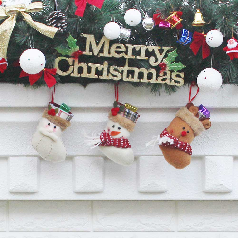 Old Man Christmas Gifts: 2017 Christmas Candy Gift Pack Christmas Pendant Old Man