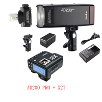 Godox AD200 Pro AD200Pro с X2T ttl беспроводной триггер вспышки для Canon Nikon Sony Fuji Fujifilm Olympus