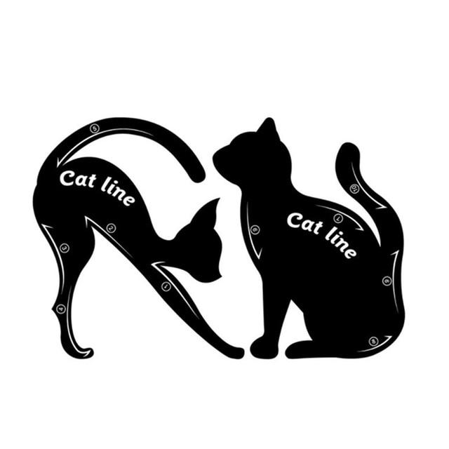1 Paar Katze Eyeliner Guides Leicht Schnell Verfassungs werkzeug set ...