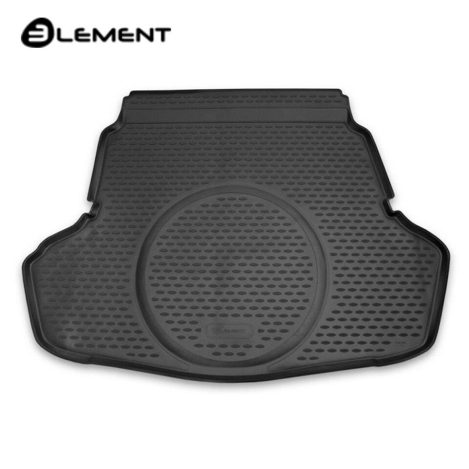 цена на Car trunk mat for Kia Optima 2016-2019 Luxe/Prestige/GT/GT-line equipment Element ELEMENT2561B10