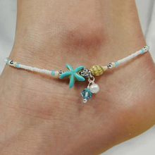 Fashion Vintage Handmade Starfish Anklets For Women