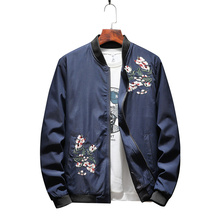 New Spring Autumn New  Jacket Men Fashion Casual Loose Mens Jacket Spo