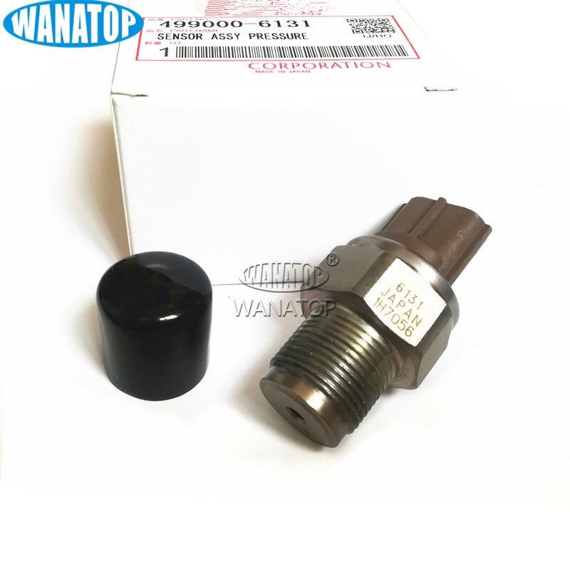 Capteur de pression de Rail de carburant 499000-6131 499000-6130 8-97318684-1 97318684 pour Nissan Navara D40 Pickup NP300 2.5 DCICapteur de pression de Rail de carburant 499000-6131 499000-6130 8-97318684-1 97318684 pour Nissan Navara D40 Pickup NP300 2.5 DCI