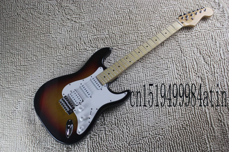 Free Shipping Guitar Factory New Arrival F stratocaster Electric Guitar 3 Pickups Custom Body In Stock  @22 forestwind new arrival hot selling junior standard style pickups electric guitar 2 pic free shipping
