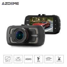 Azdome DAB205 A12 2560*1440 P Grabador de Vídeo de la Cámara Del Coche de Ambarella Rociada Cam 3.0 pulgadas LCD de 170 grados g-sensor de ADAS GPS Del Coche DVR