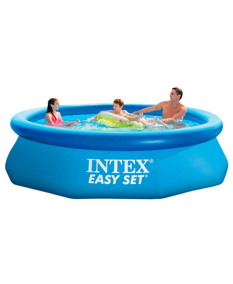 Round Pool Inflatable водораспорный With Inflatable Ring For Garden Leisure Summer Easy Set 305x76 Cm, 3853 L, Intex, Item No. 28120np