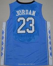96c577b8d Mens Michael Jordan 23 Faculdade dos homens Reminiscência Jerseys North  Carolina Tar Heels Basketball Jerseys Costurado