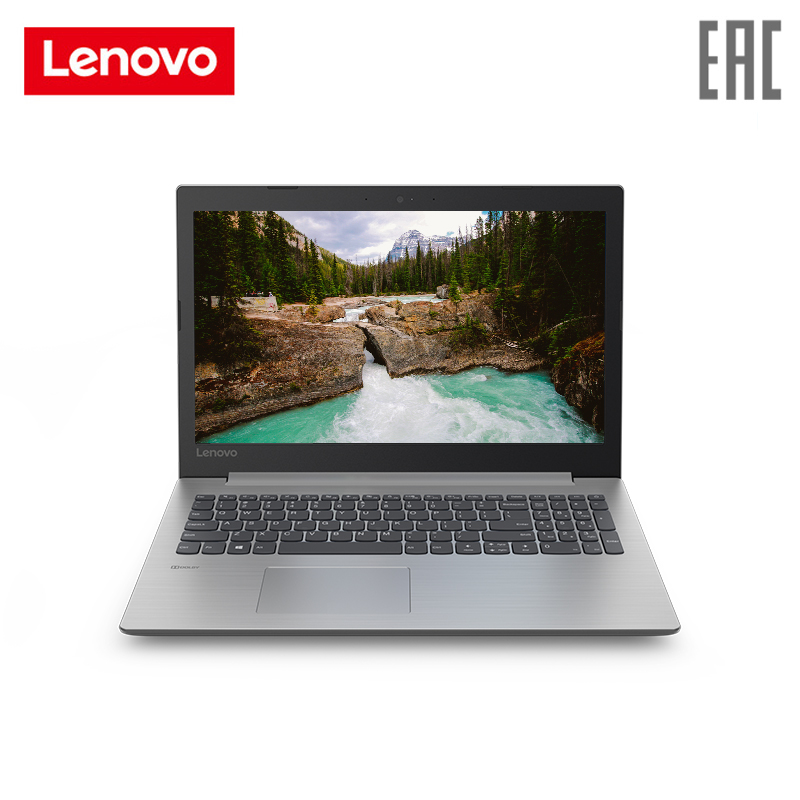 Laptop Lenovo IdeaPad 330-15AST/15.6 HD TN AG 200N/E2-9000/4 GB/128 GB SSD/ Integrated/Windows 10/Gray (81D600P6RU)