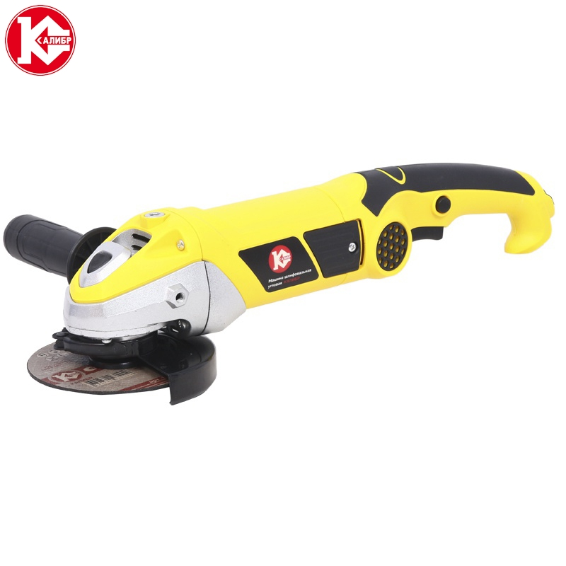 Electric tool Angle grinder Kalibr Master MSHU-125/1200M, disc 125mm, power 1200W, angular power tool for grinding and cutting talentool 25mm diamond cutting cut off blade wheel disc rotary tool for dremel with 2pcs mandrel