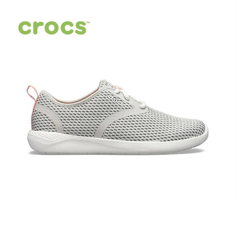 CROCS LiteRide Mesh Lace W WOMEN for female, women TmallFS shoes sneakers цена в Москве и Питере