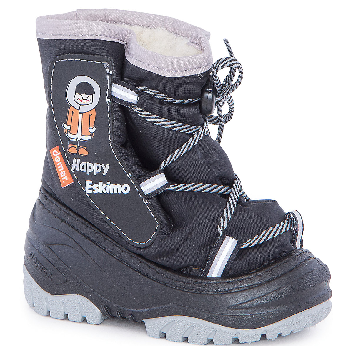 Boots Demar for boys 6835181 Valenki Uggi Winter Baby Kids Children shoes flamingo winter waterproof wool warm high quality kids shoes orthotic arch anti slip size 23 28 snow boots for girl 82m qk 0921