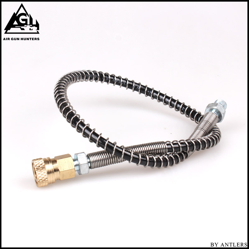 Airgun Paintball Airsoft Shooting 63Mpa/9000PSI Hose 8mm Quick Connector For PCP Hand Pump M10*1 With Female Connector